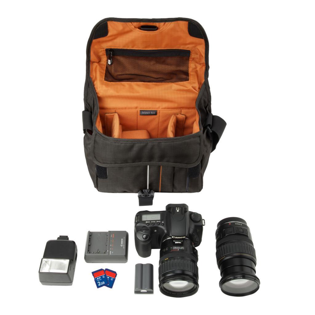 Фото-сумка Crumpler Jackpack 4000 (grey_black) (JP4000-005) изображение 3