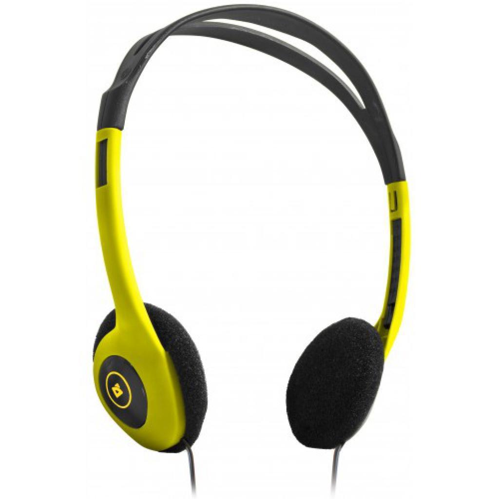 Наушники Defender Aura HN-001 жовті (63000)