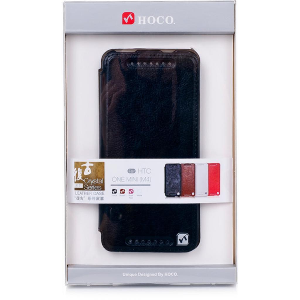 Чехол для моб. телефона HOCO для HTC ONE Mini /Crystal (HT-L012 Black)