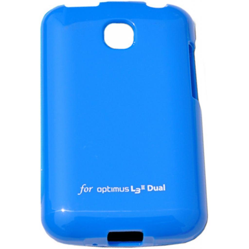 Чехол для моб. телефона VOIA для LG E435 Optimus L3II Dual /Jelly/Blue (6068170)
