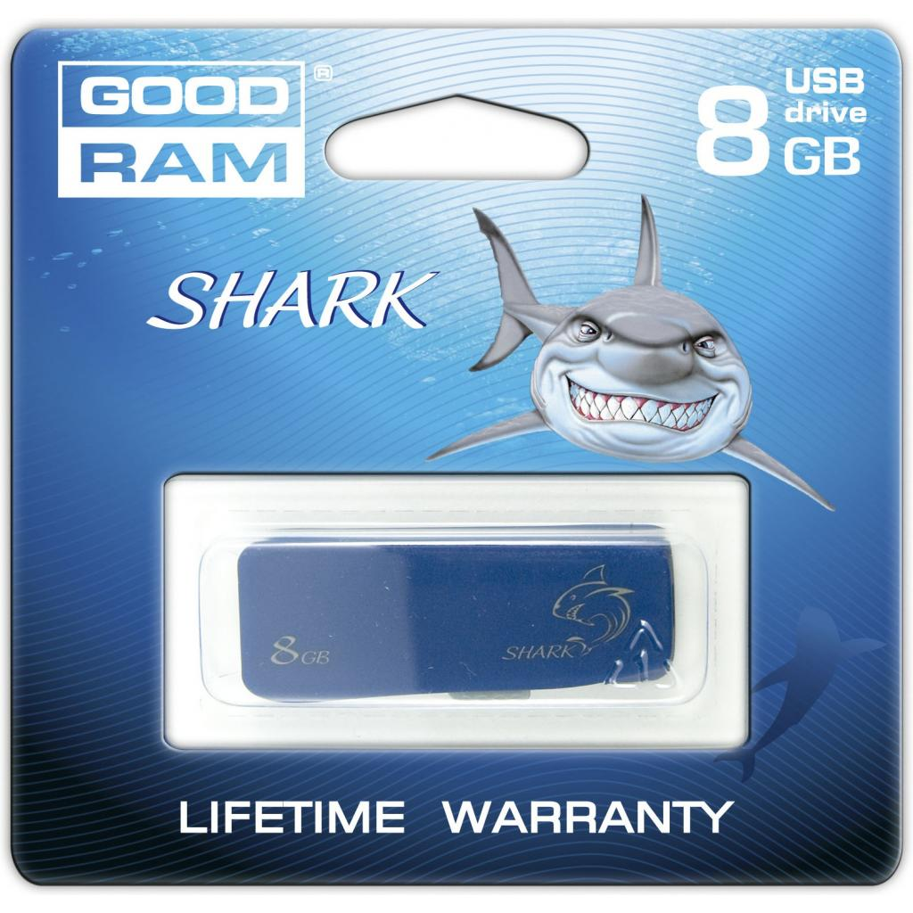 USB флеш накопитель 8GB USB 2.0 Shark GOODRAM (PD8GH2GRSHMR9) изображение 4