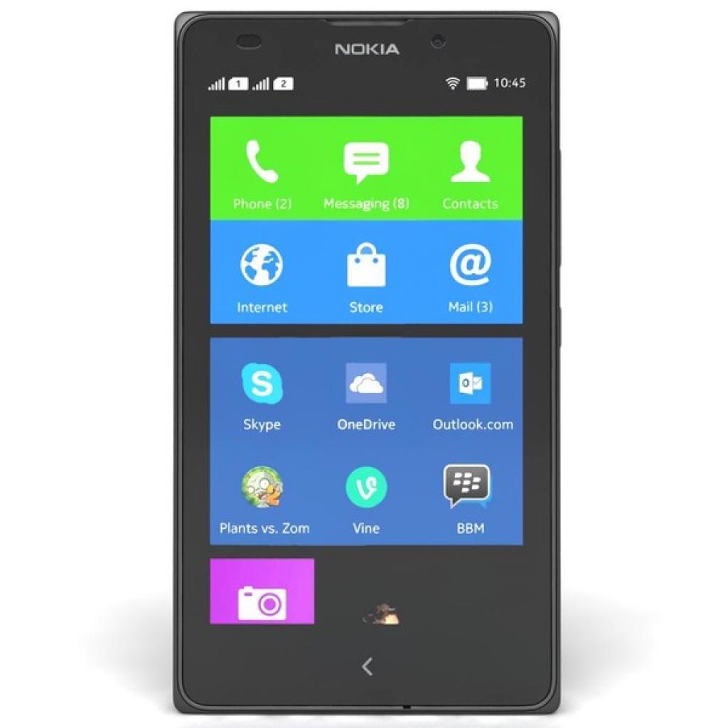 Мобильный телефон Nokia XL DS Black (A00018643) изображение 2