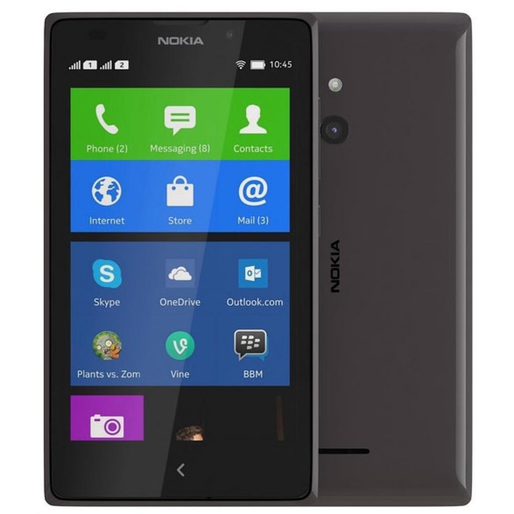 Мобильный телефон Nokia XL DS Black (A00018643)