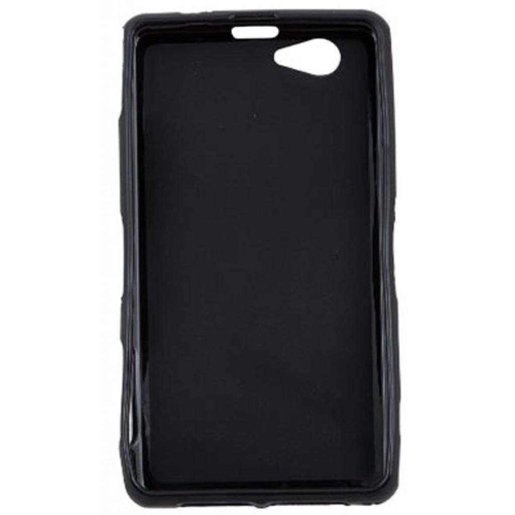 Чехол для моб. телефона для Sony Xperia Z1 Compact (Black) Elastic PU Drobak (212290) изображение 2