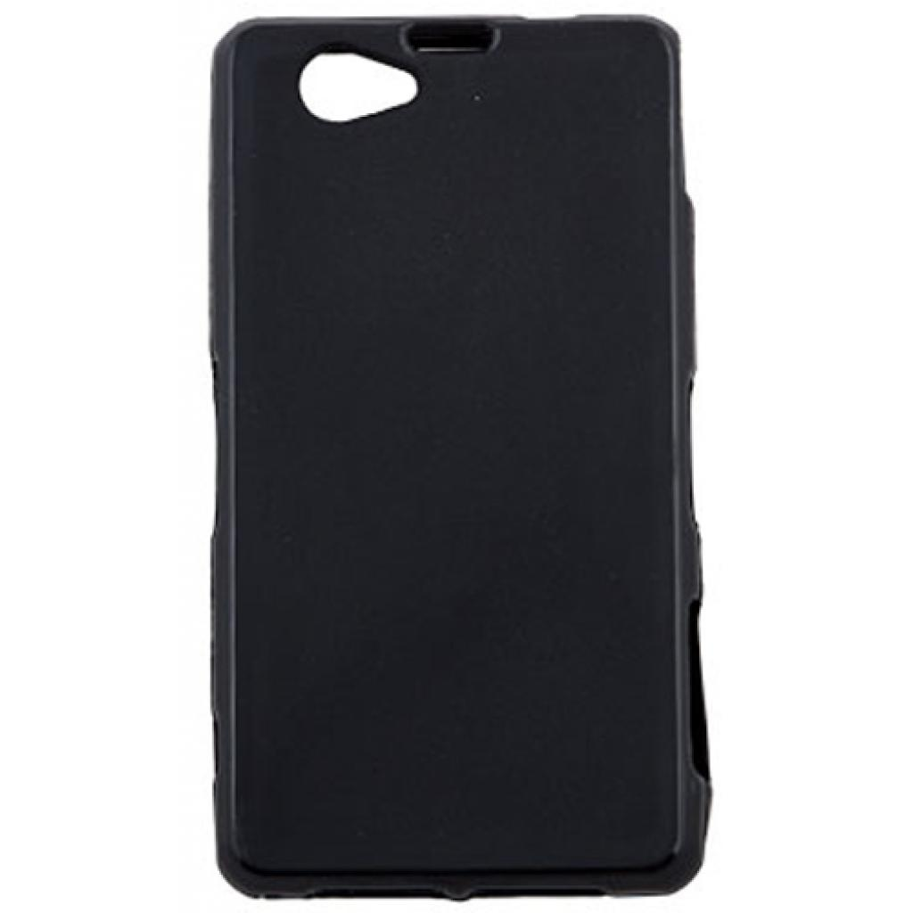 Чехол для моб. телефона для Sony Xperia Z1 Compact (Black) Elastic PU Drobak (212290)
