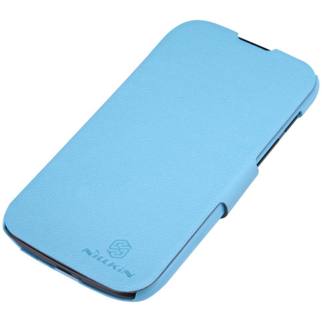 Чехол для моб. телефона NILLKIN для Huawei G0/Fresh/ Leather/Blue (6076850) изображение 3
