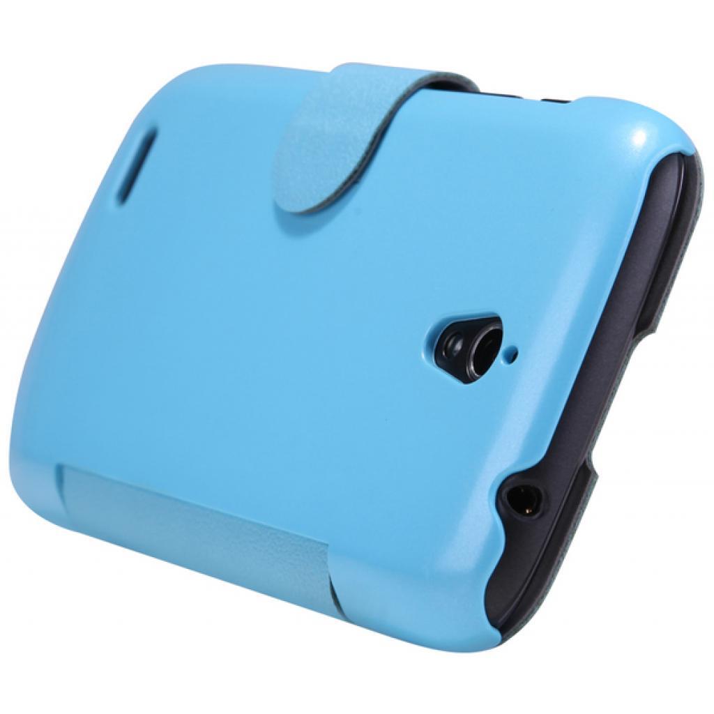 Чехол для моб. телефона NILLKIN для Huawei G0/Fresh/ Leather/Blue (6076850) изображение 4
