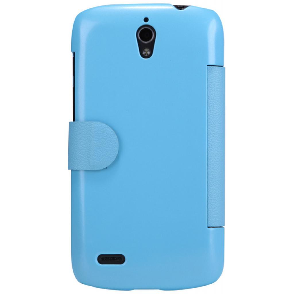 Чехол для моб. телефона NILLKIN для Huawei G0/Fresh/ Leather/Blue (6076850) изображение 5