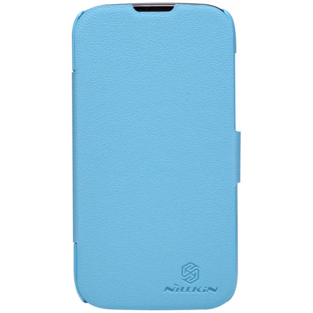 Чехол для моб. телефона NILLKIN для Huawei G0/Fresh/ Leather/Blue (6076850)