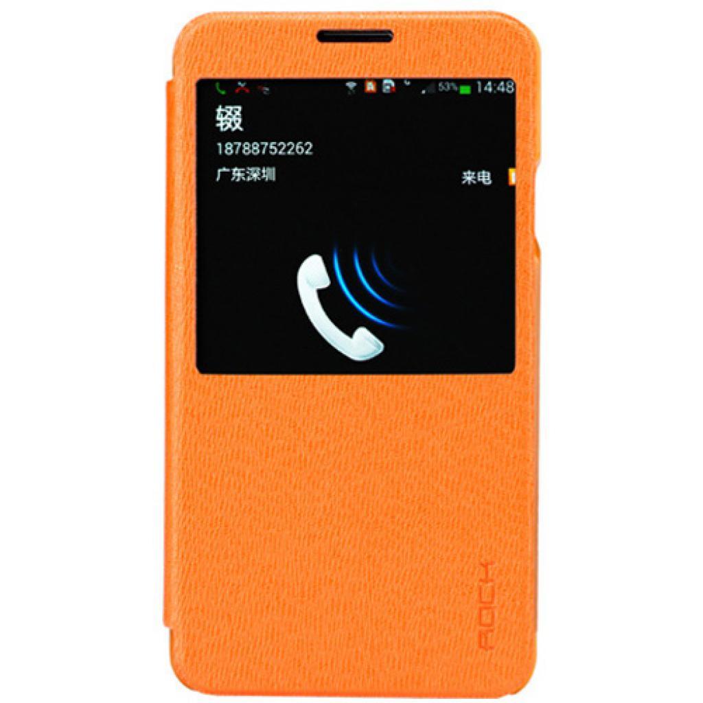 Чехол для моб. телефона Rock Samsung Note3 N9000 Excel series orange (Note III-55777)