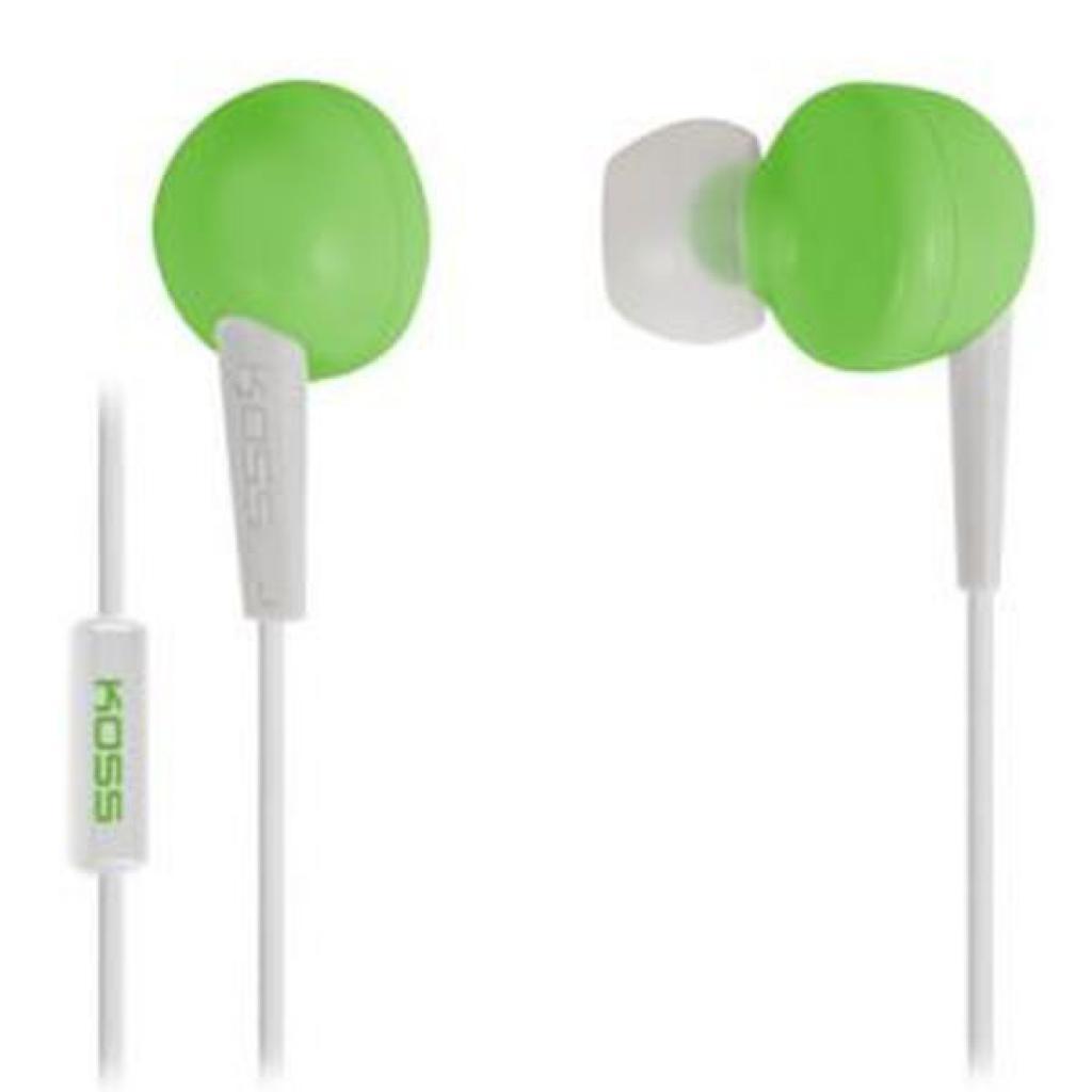 Наушники KOSS KEB6i Green (KEB6i g)