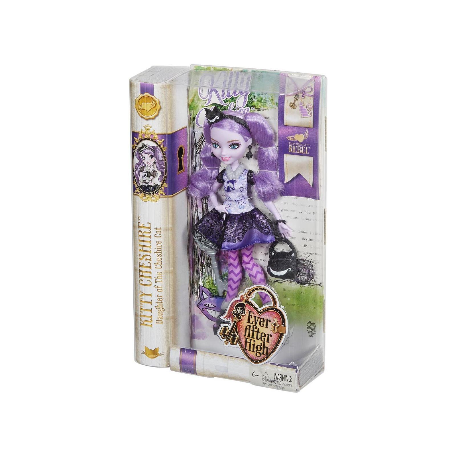Кукла Mattel Ever After High Сказочные бунтари Дочь Чеширского Кота (BBD41-4) изображение 5