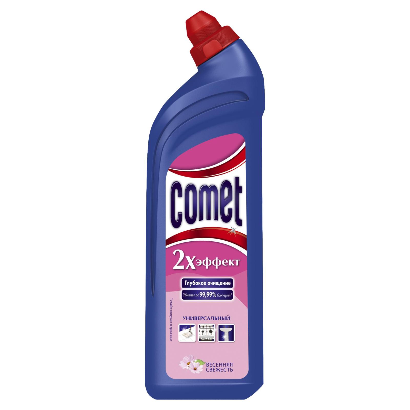 Средство для уборки Comet Весенняя свежесть 1 л (4015600411954)
