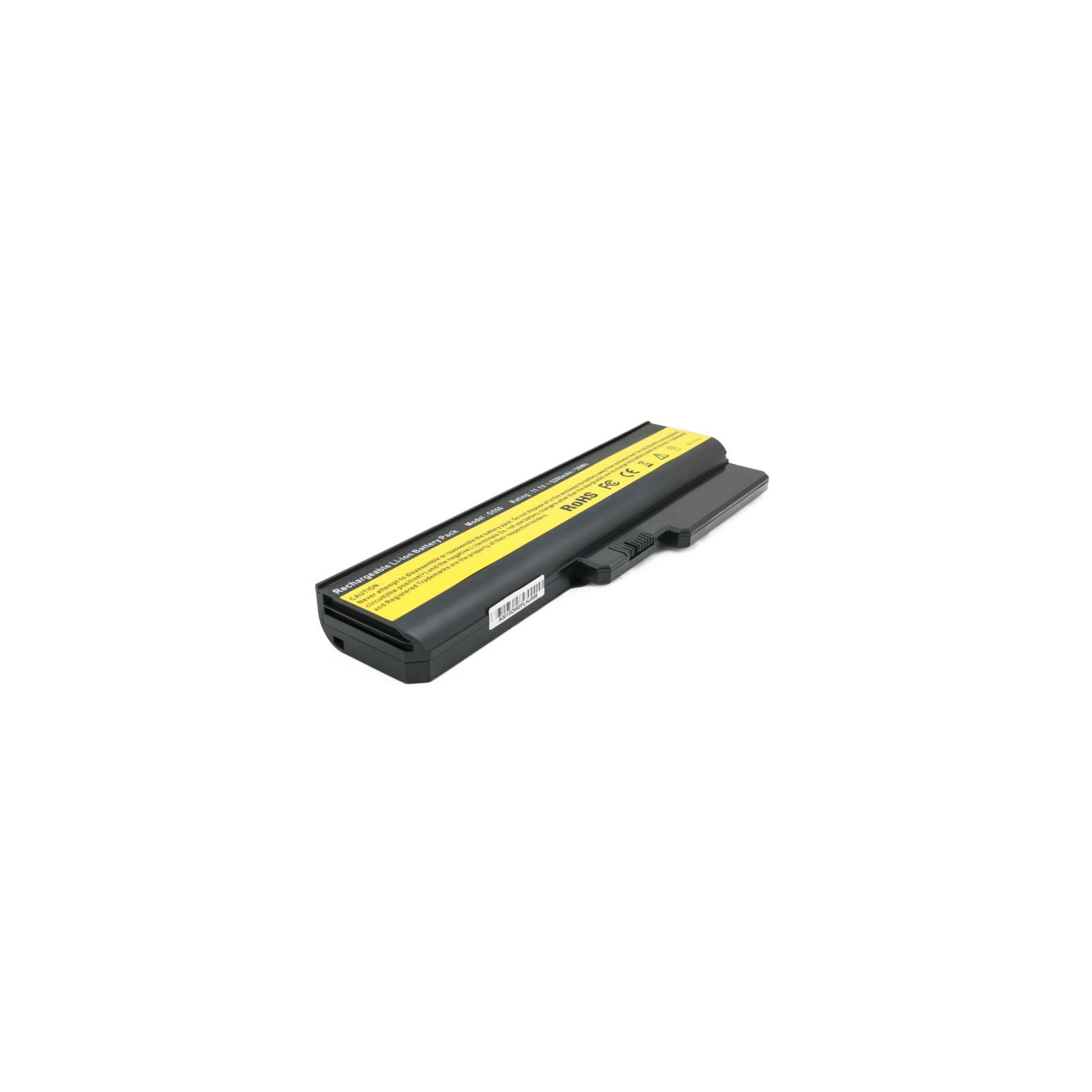 Аккумулятор для ноутбука Lenovo IdeaPad G550, 5200 mAh EXTRADIGITAL (BNL3953) изображение 2