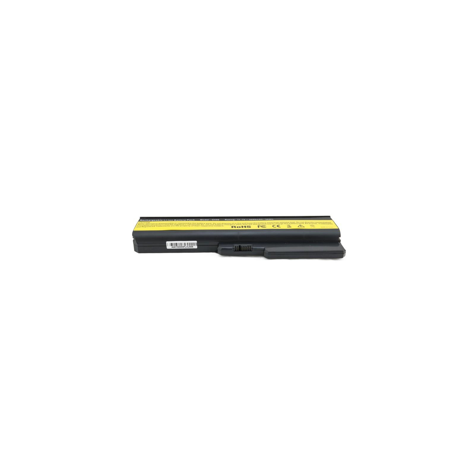Аккумулятор для ноутбука Lenovo IdeaPad G550, 5200 mAh EXTRADIGITAL (BNL3953) изображение 4