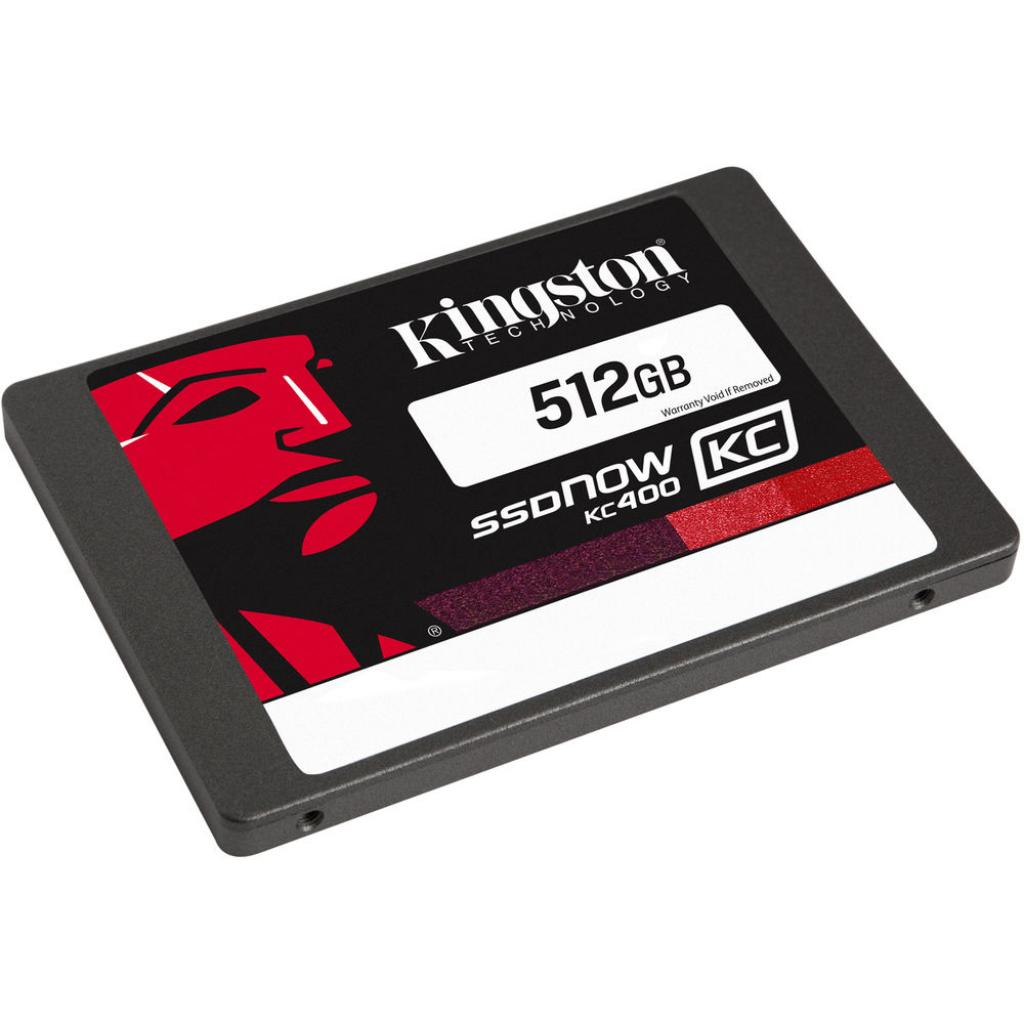 "Накопитель SSD 2.5"" 512GB Kingston (SKC400S3B7A/512G) изображение 2"