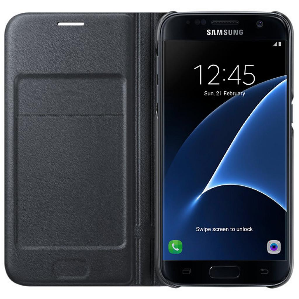 Чехол для моб. телефона Samsung Galaxy S7/Black/View Cover (EF-NG930PBEGRU) изображение 4