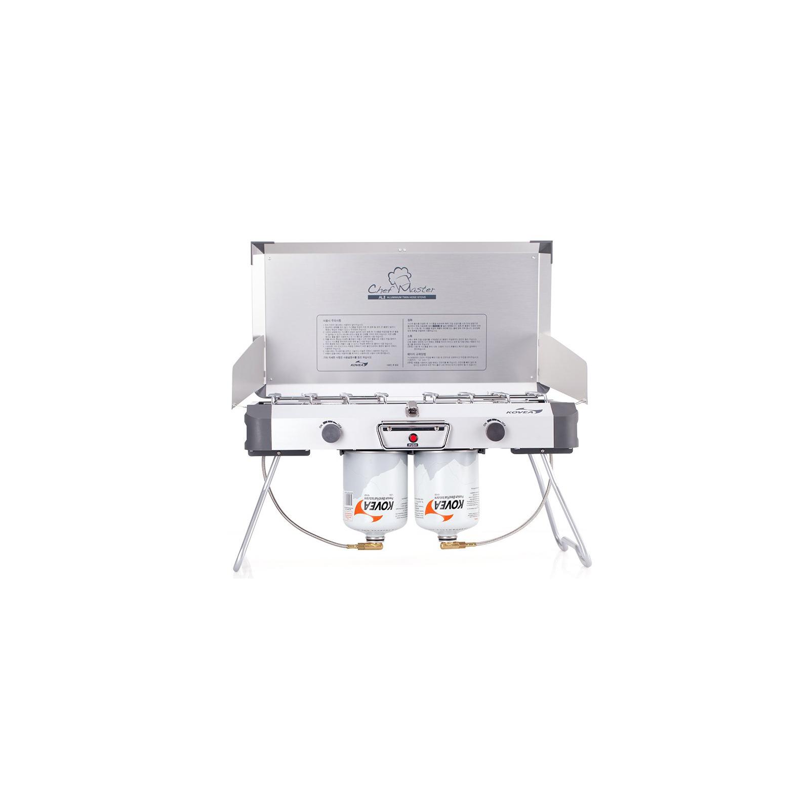 Газовая плитка Kovea Grace Twin Stove (AL II Chef Master) KB-0812 (8806372095437) изображение 4