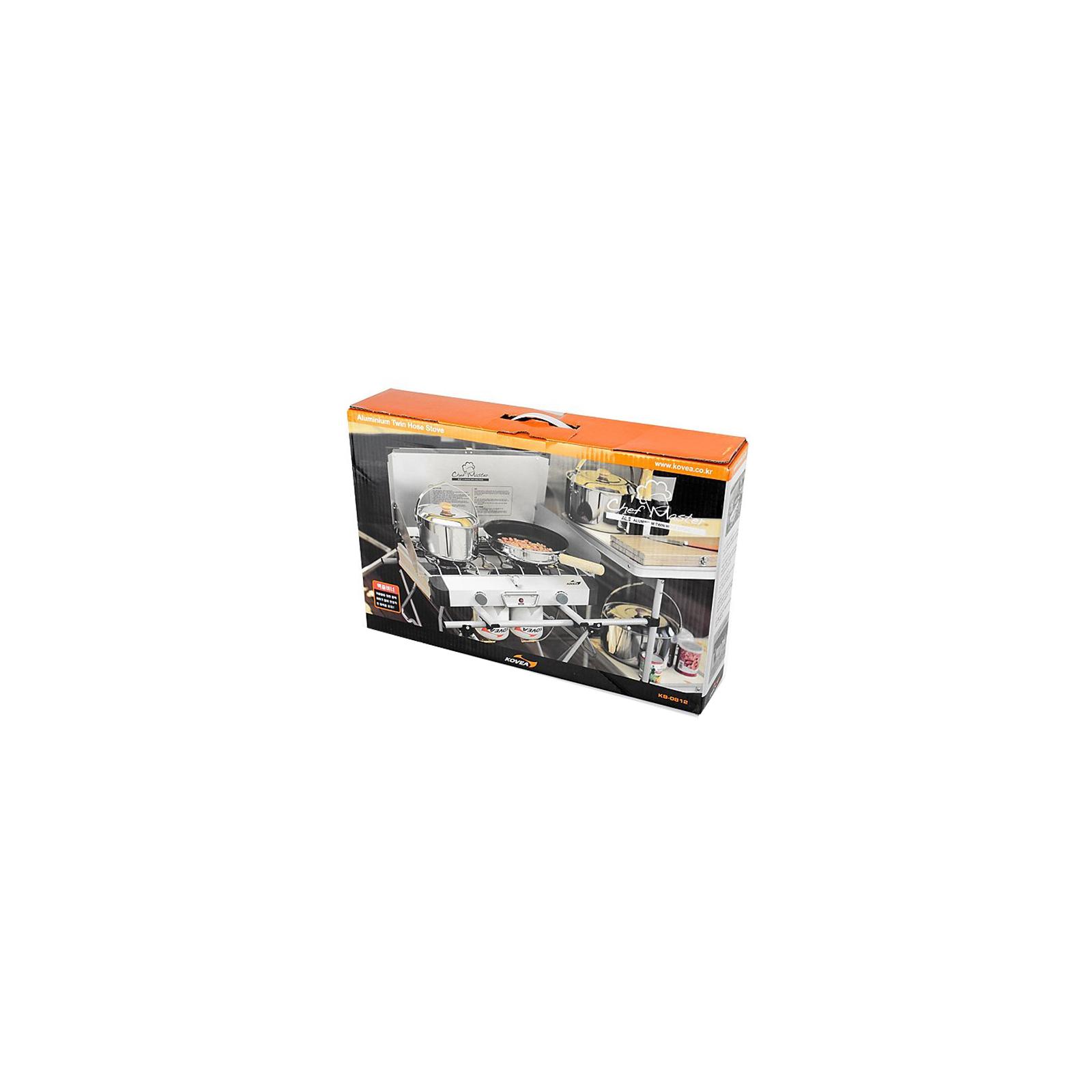 Газовая плитка Kovea Grace Twin Stove (AL II Chef Master) KB-0812 (8806372095437) изображение 7