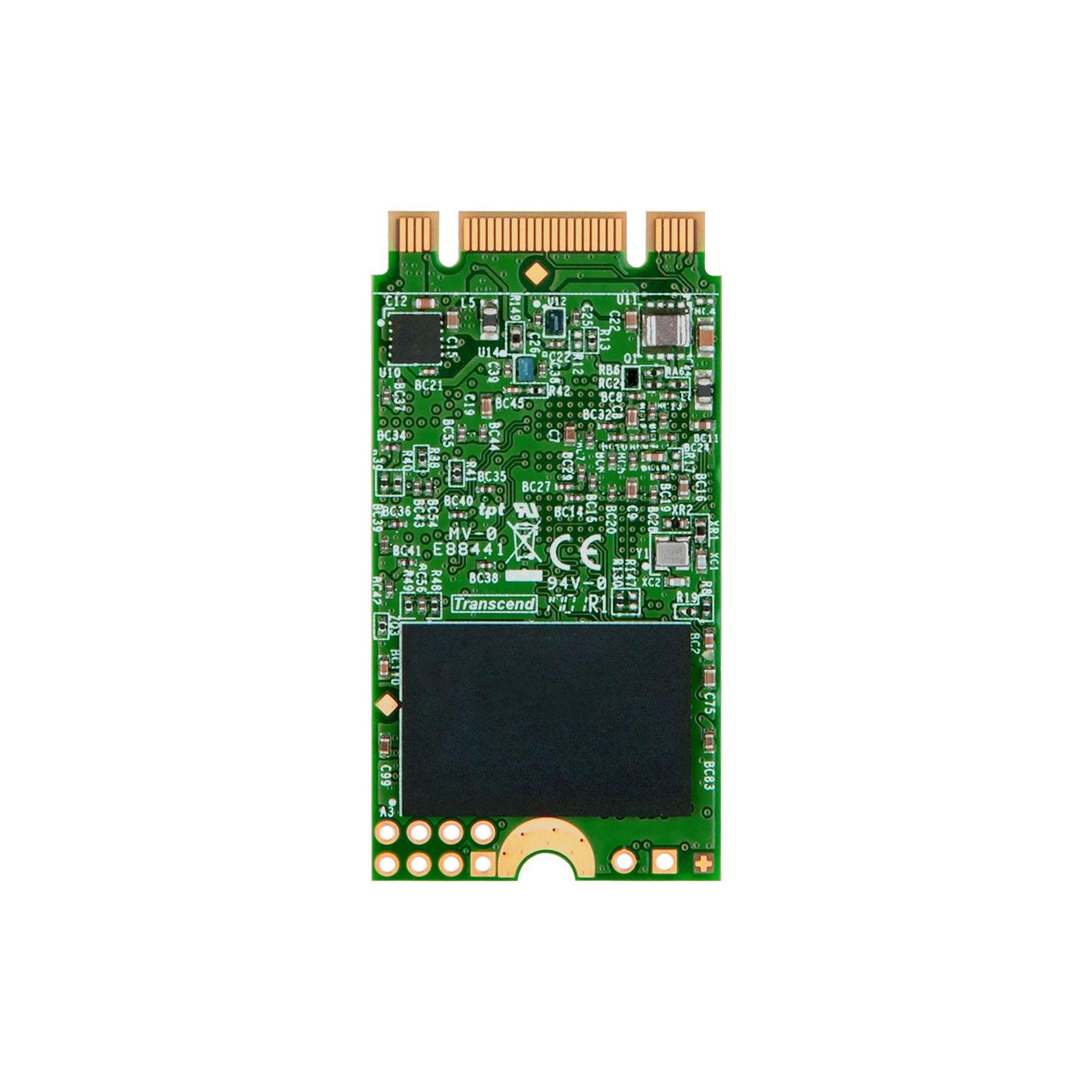 Накопитель SSD M.2 2242 120GB Transcend (TS120GMTS420S) изображение 3