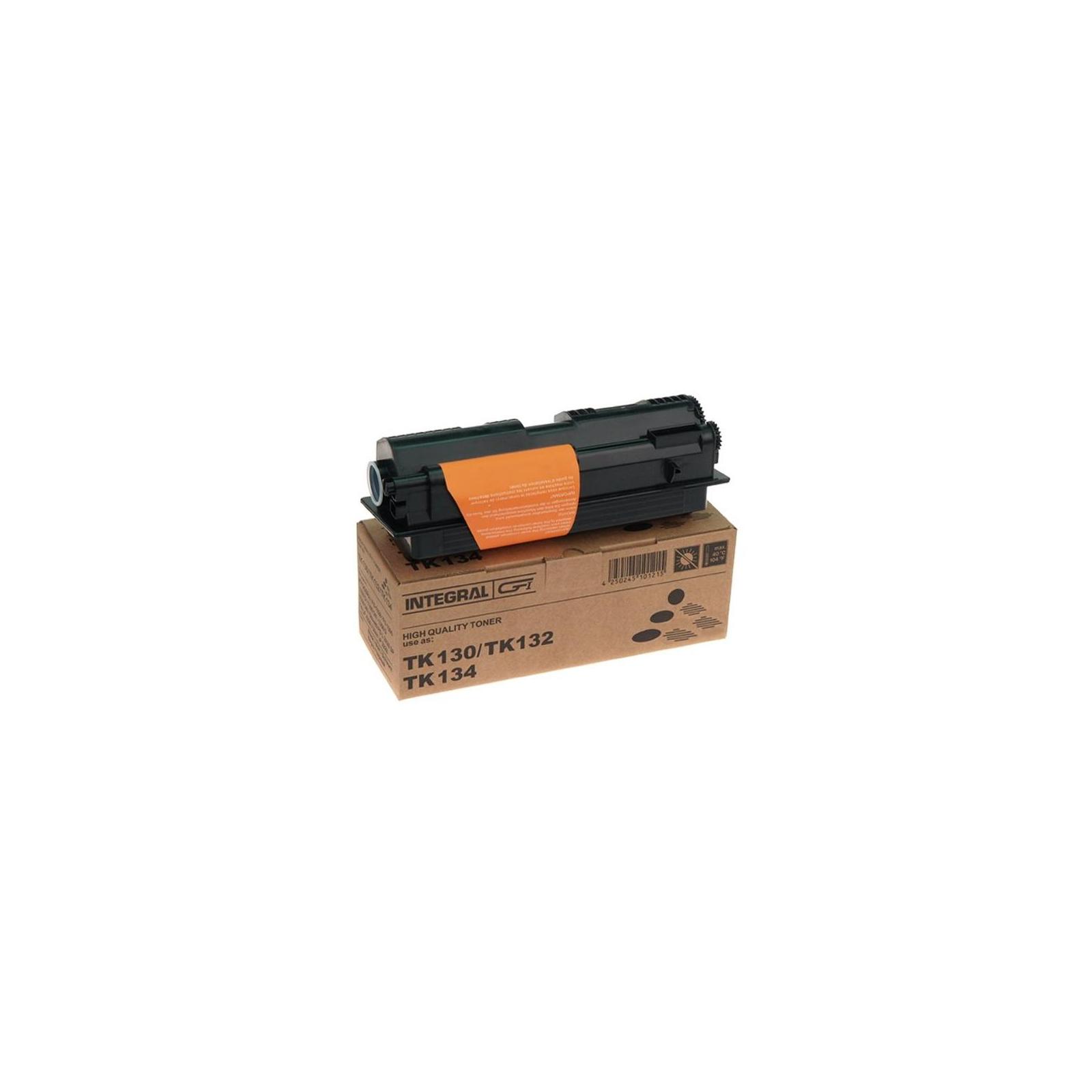 Тонер-картридж Integral Kyocera TK-130 chip (12100034С)