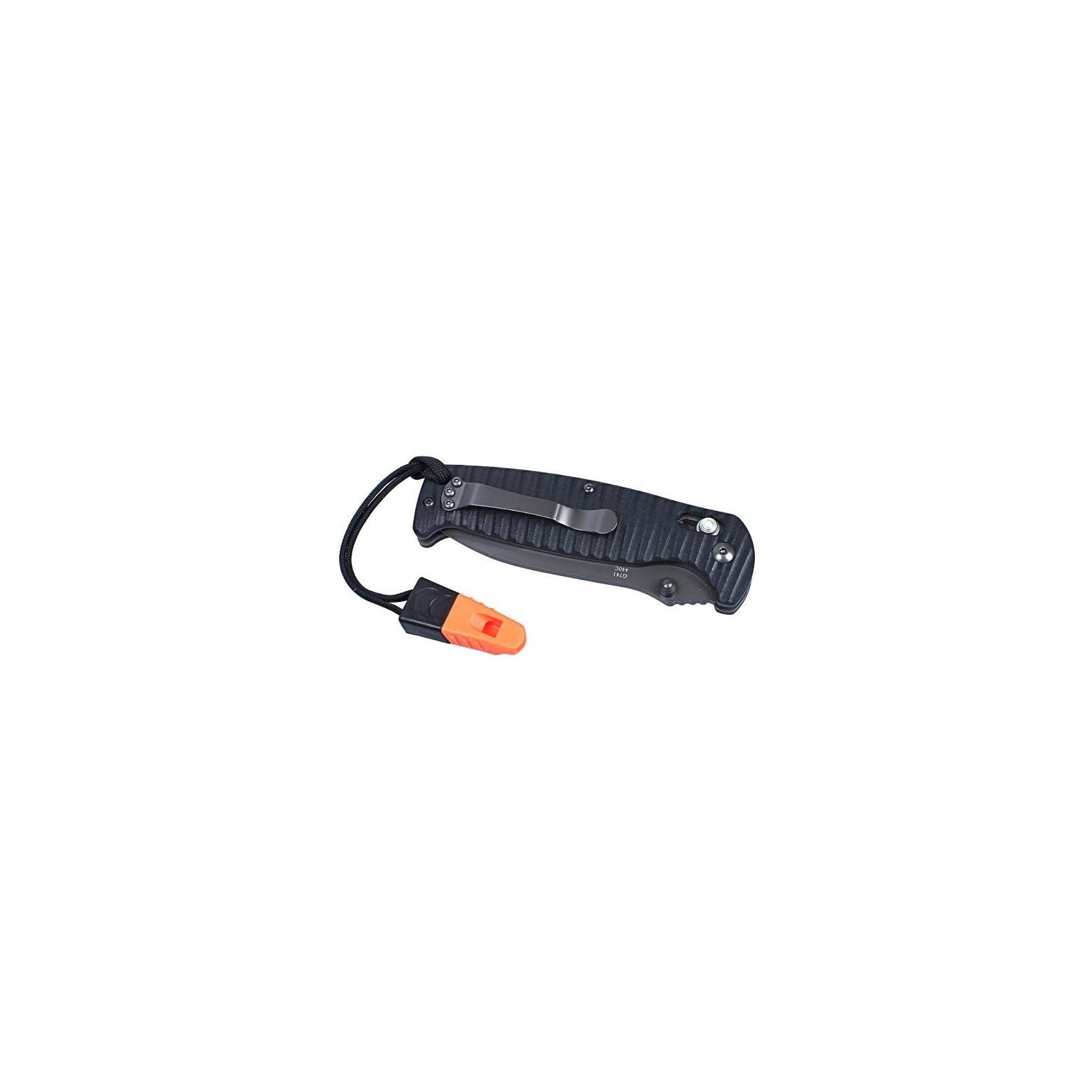 Нож Ganzo G7413P-BK-WS чёрный (G7413P-BK-WS) изображение 5
