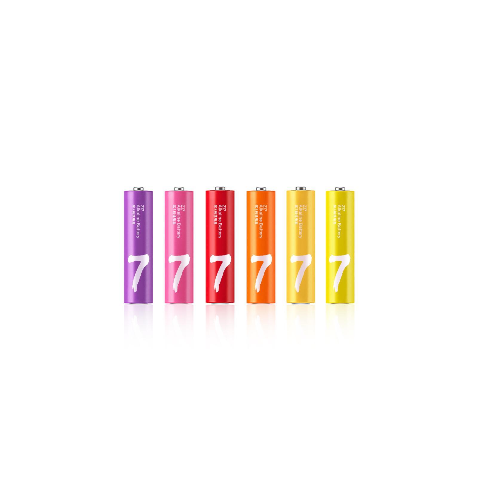Батарейка ZMI ZI7 Rainbow AAA batteries * 40 (Ф01153) изображение 2