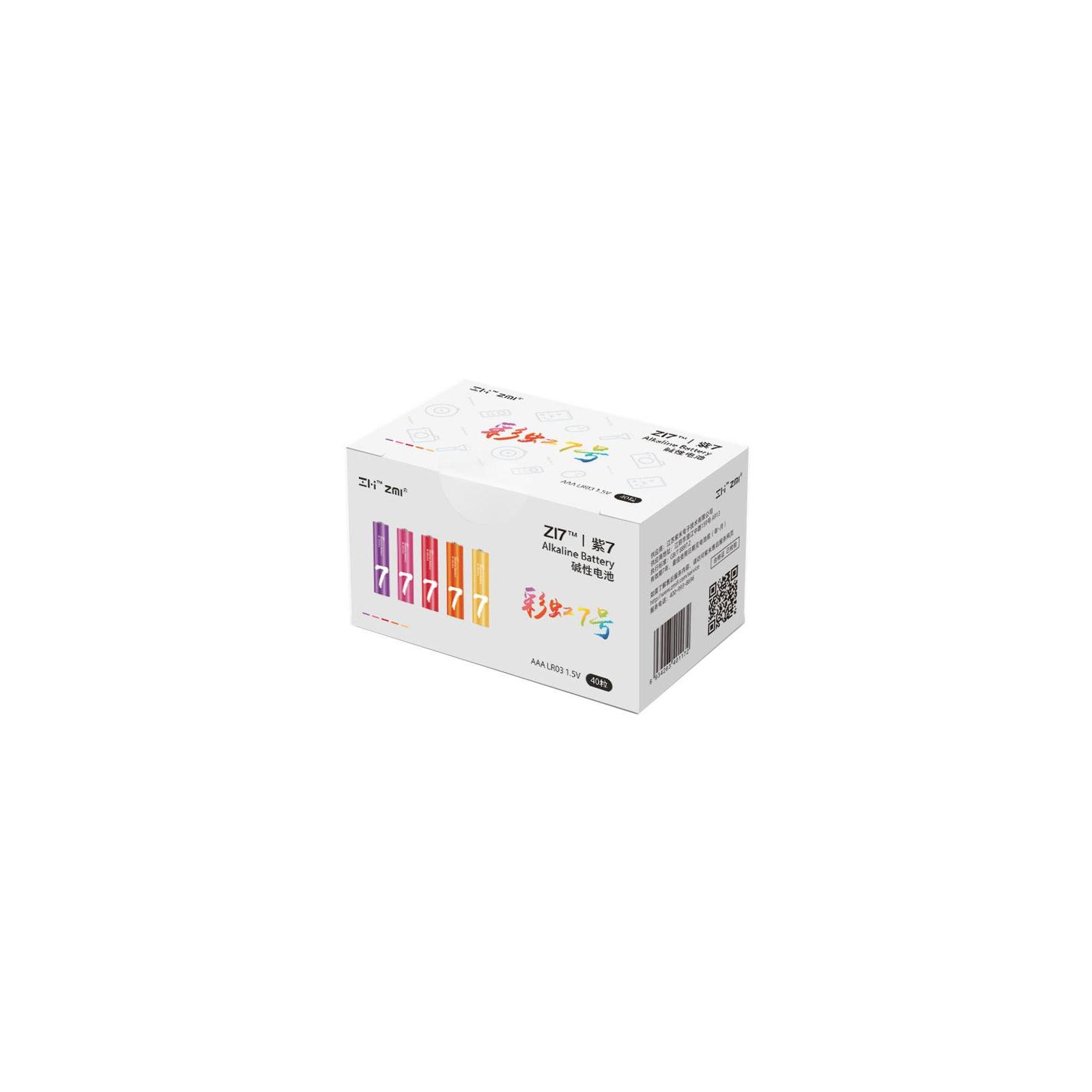 Батарейка ZMI ZI7 Rainbow AAA batteries * 40 (Ф01153)
