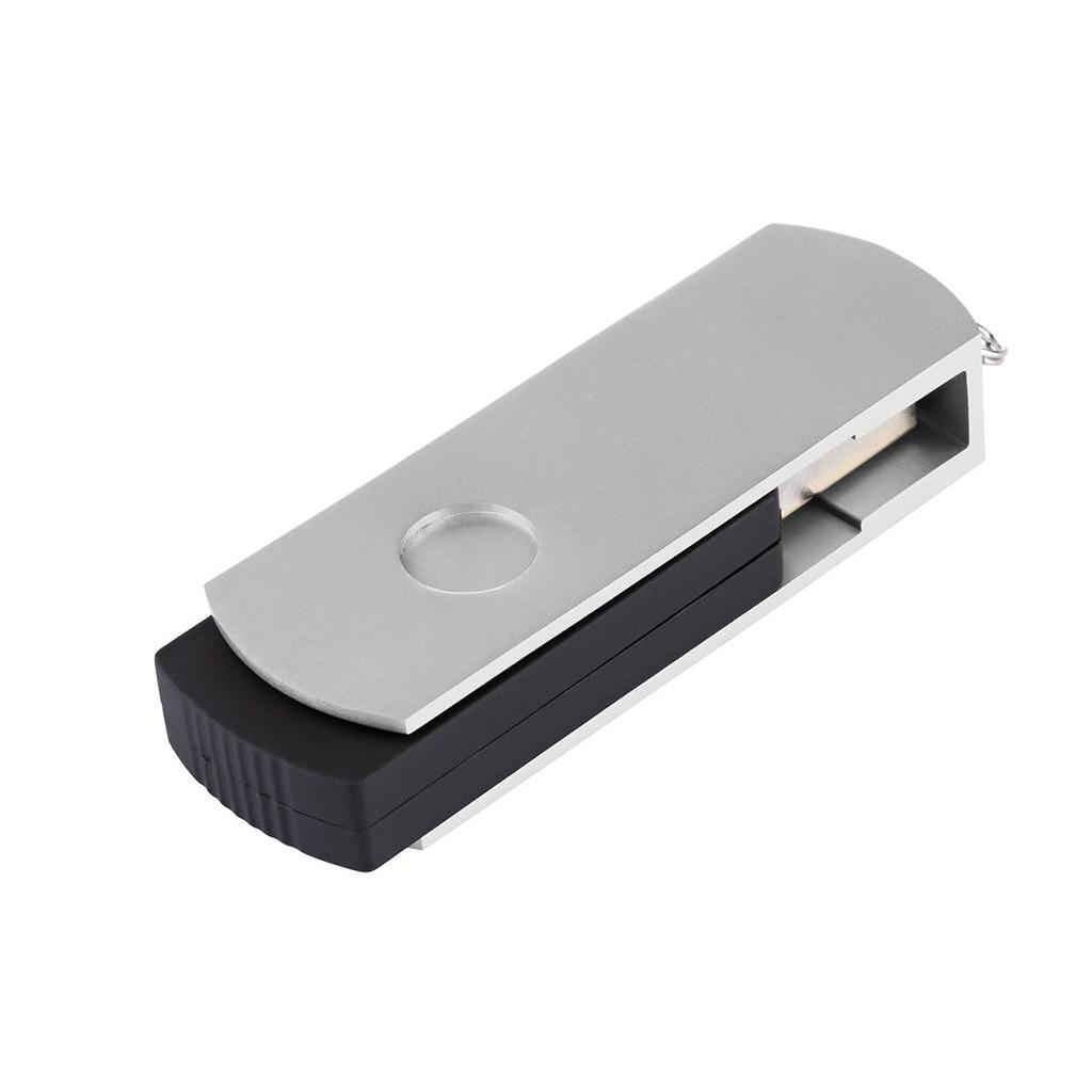 USB флеш накопитель eXceleram 8GB P2 Series Silver/Black USB 2.0 (EXP2U2SIB08) изображение 6