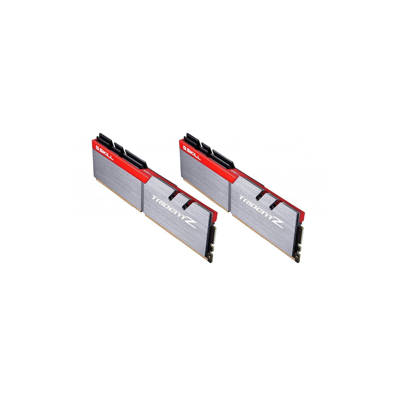Модуль памяти для компьютера DDR4 16GB (2x8GB) 3600 MHz Trident Z Silver H G.Skill (F4-3600C17D-16GTZ) изображение 2