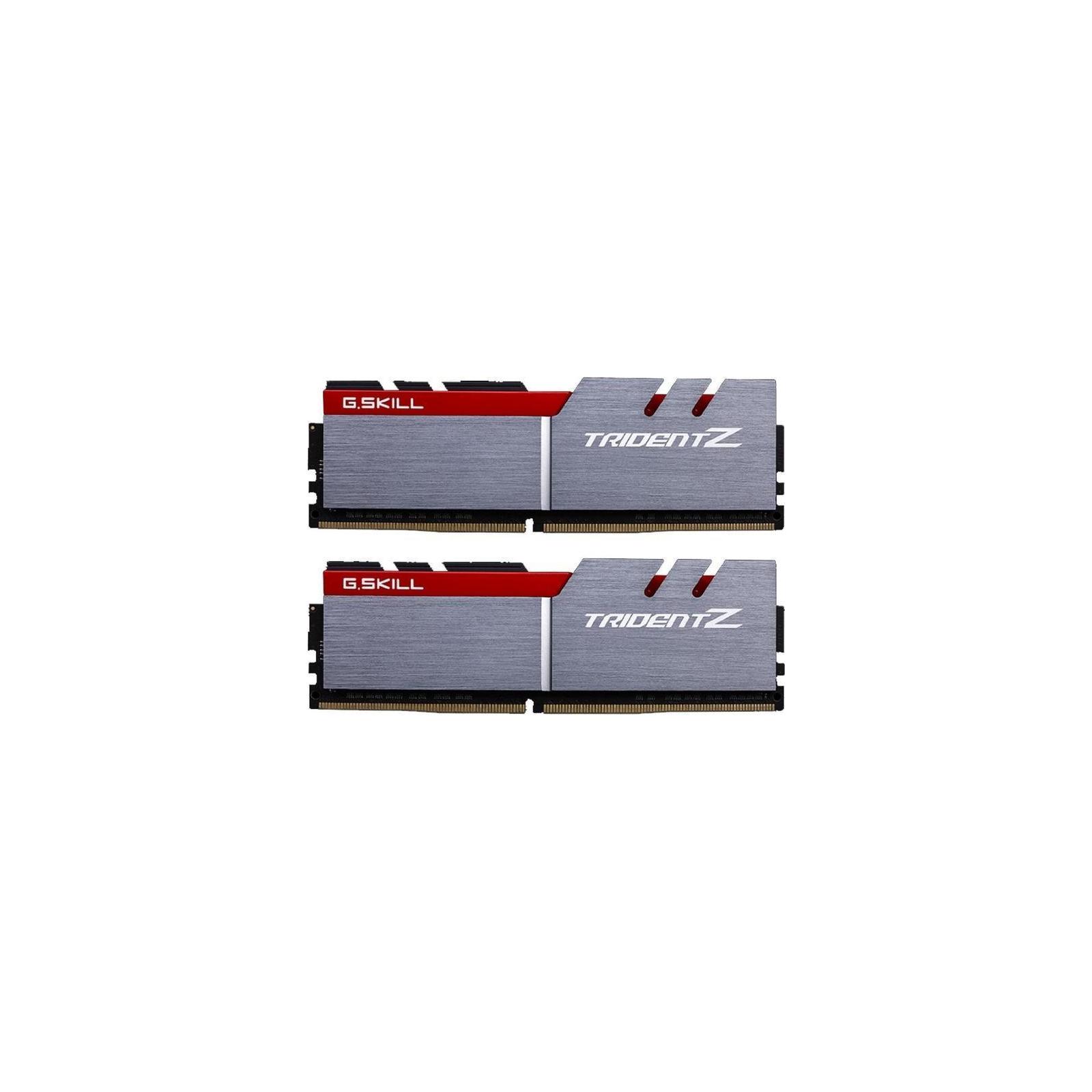 Модуль памяти для компьютера DDR4 16GB (2x8GB) 3600 MHz Trident Z Silver H G.Skill (F4-3600C17D-16GTZ)