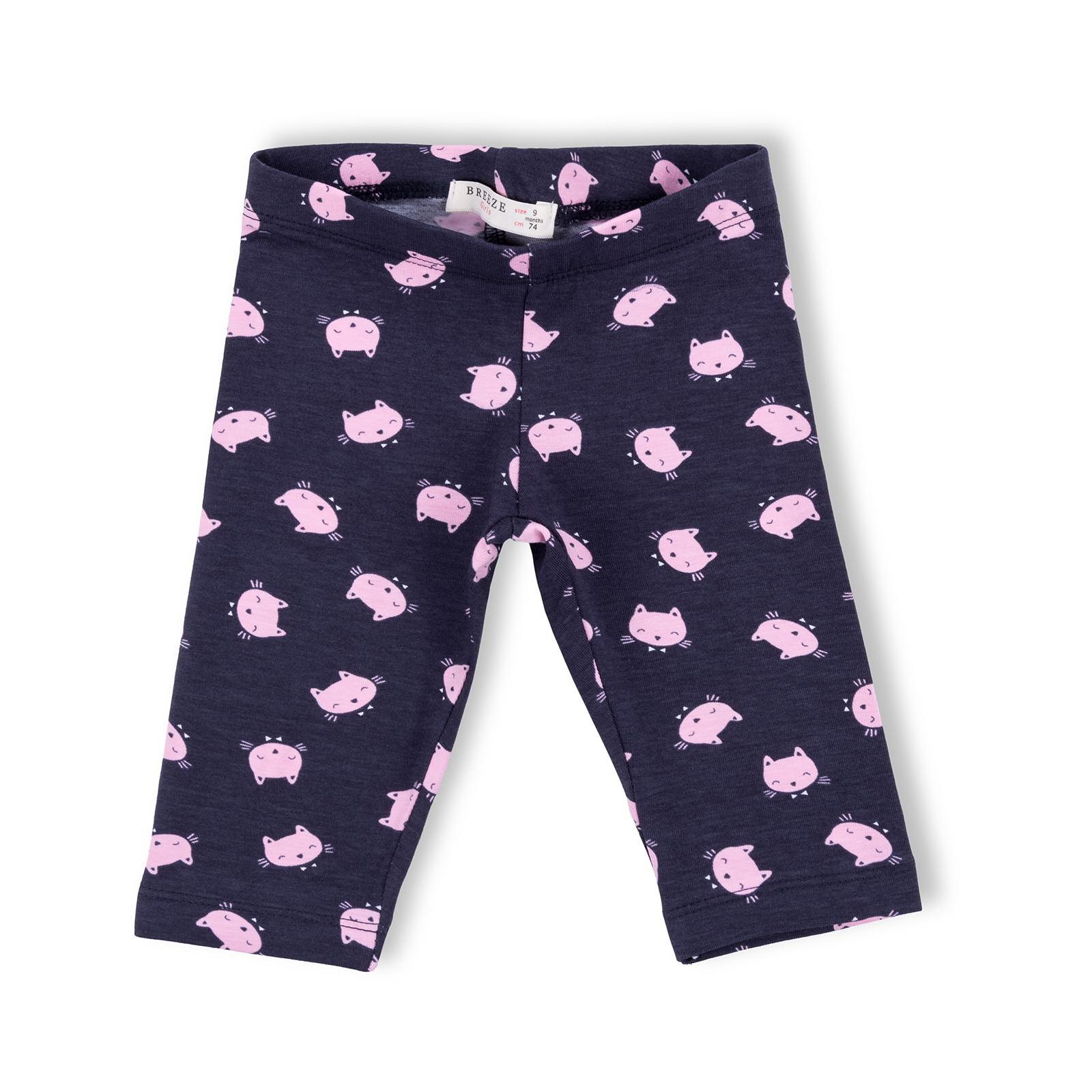Набор детской одежды Breeze с котиками (7493-80G-pink) изображение 3