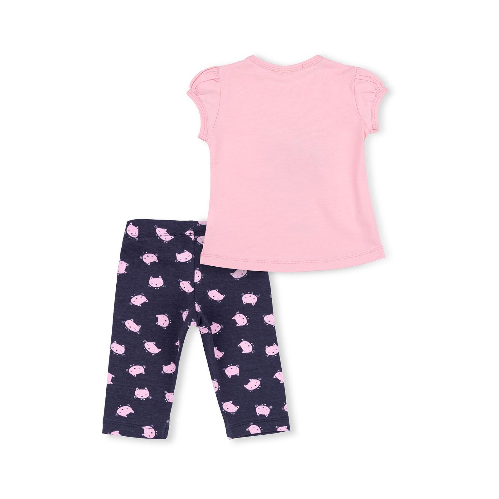 Набор детской одежды Breeze с котиками (7493-80G-pink) изображение 4