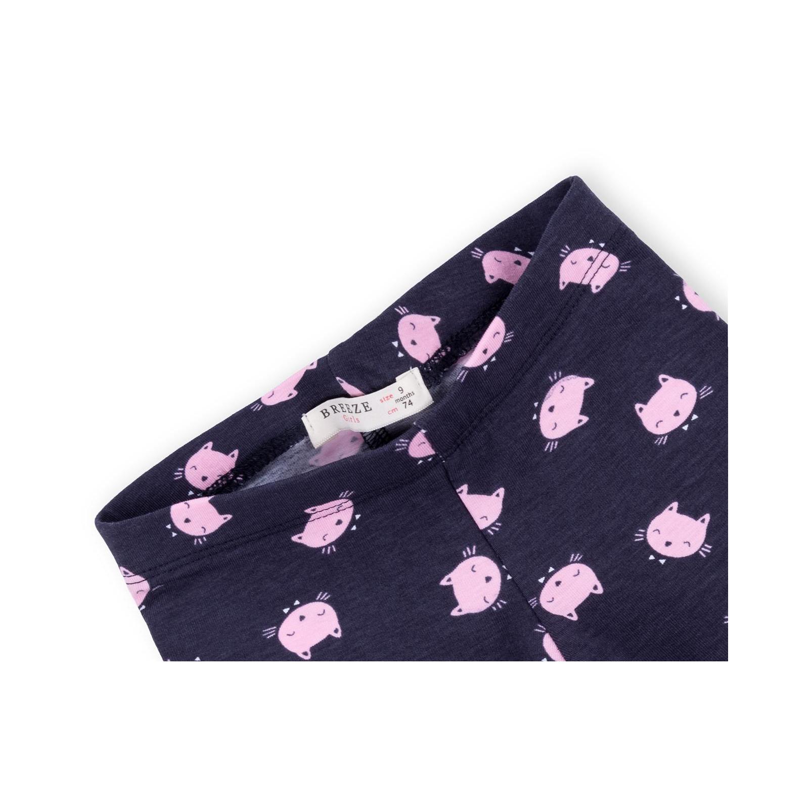 Набор детской одежды Breeze с котиками (7493-80G-pink) изображение 8