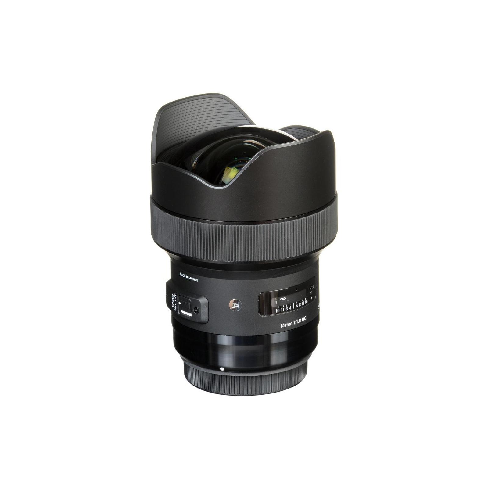 Объектив Sigma AF 14/1,8 DG HSM Art Canon (450954) изображение 7
