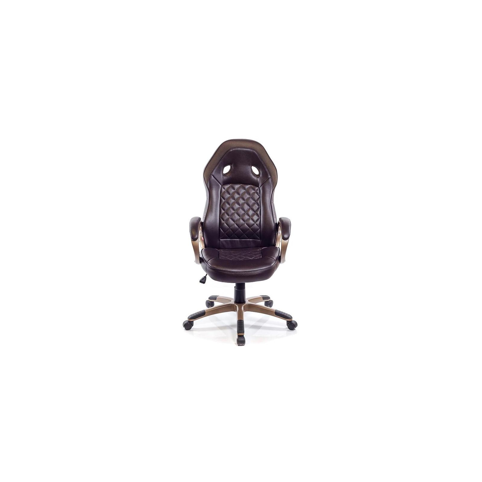 Кресло игровое АКЛАС Блиц PL TILT Коричневое (07262) изображение 2