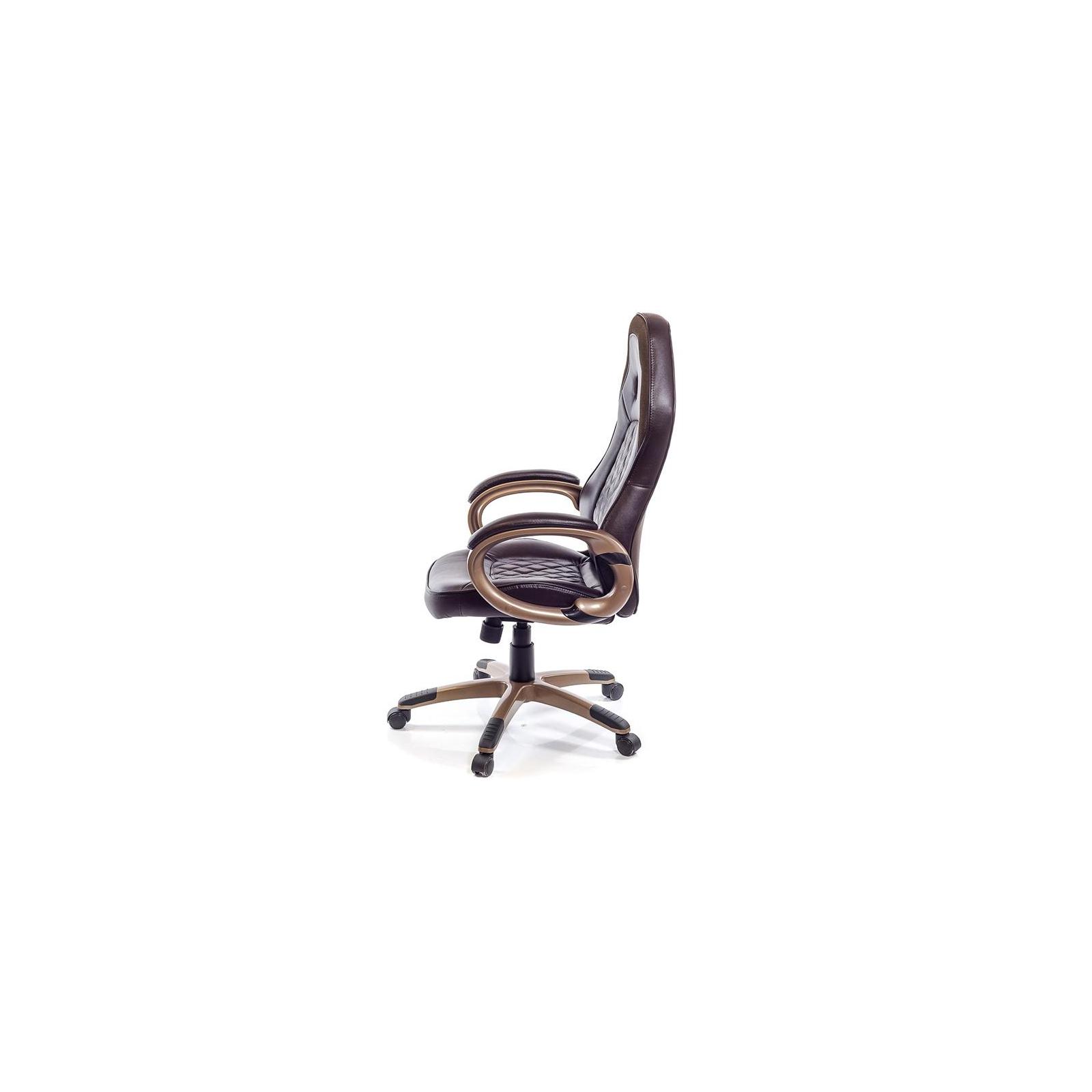 Кресло игровое АКЛАС Блиц PL TILT Коричневое (07262) изображение 3