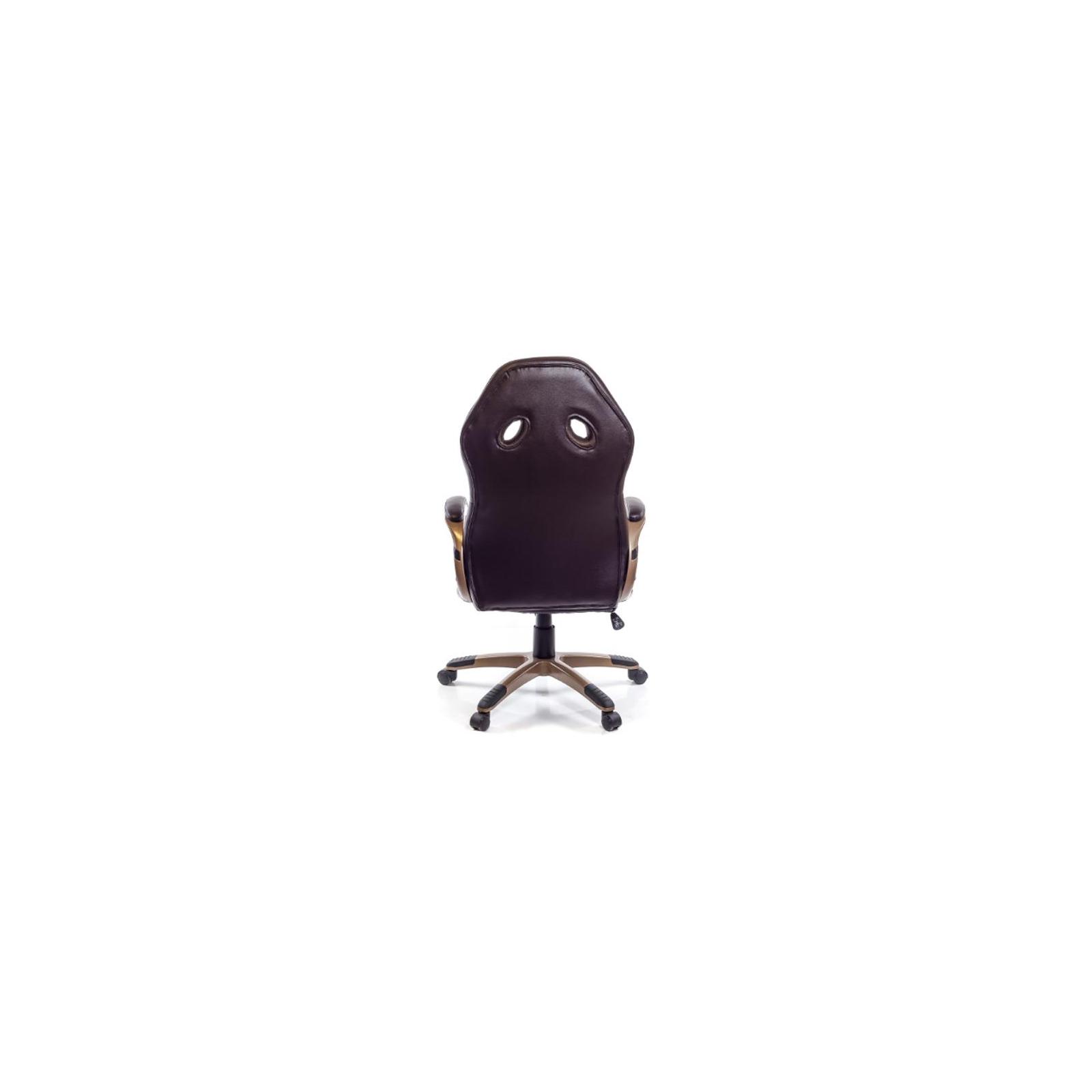 Кресло игровое АКЛАС Блиц PL TILT Коричневое (07262) изображение 4