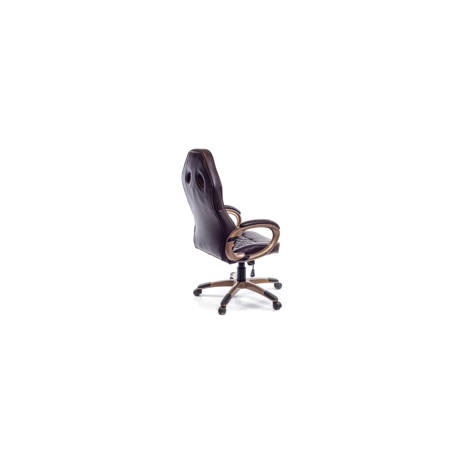 Кресло игровое АКЛАС Блиц PL TILT Коричневое (07262) изображение 5