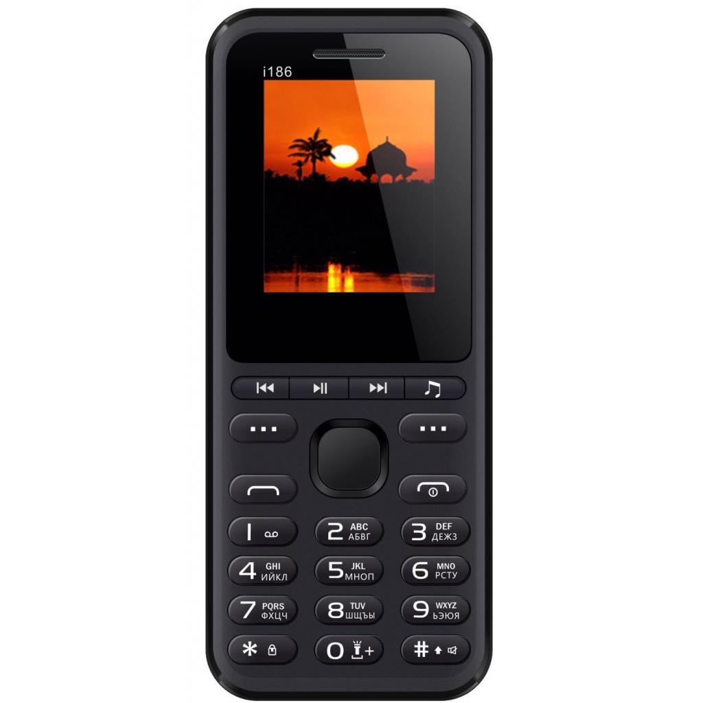 Мобильный телефон Nomi i186 Black