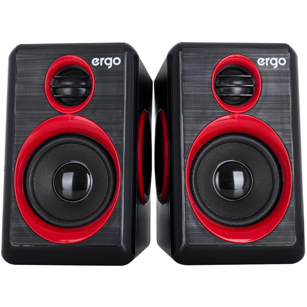 Акустическая система Ergo S-165 Red/Black изображение 2