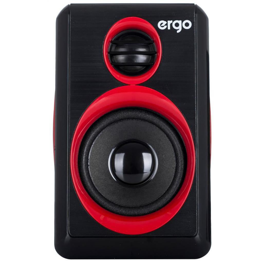Акустическая система Ergo S-165 Red/Black изображение 3