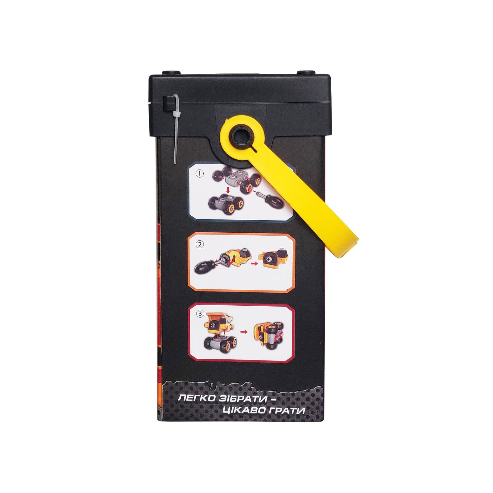 Конструктор Microlab Toys Строительная техника - карьерный самосвал (MT8907) изображение 4