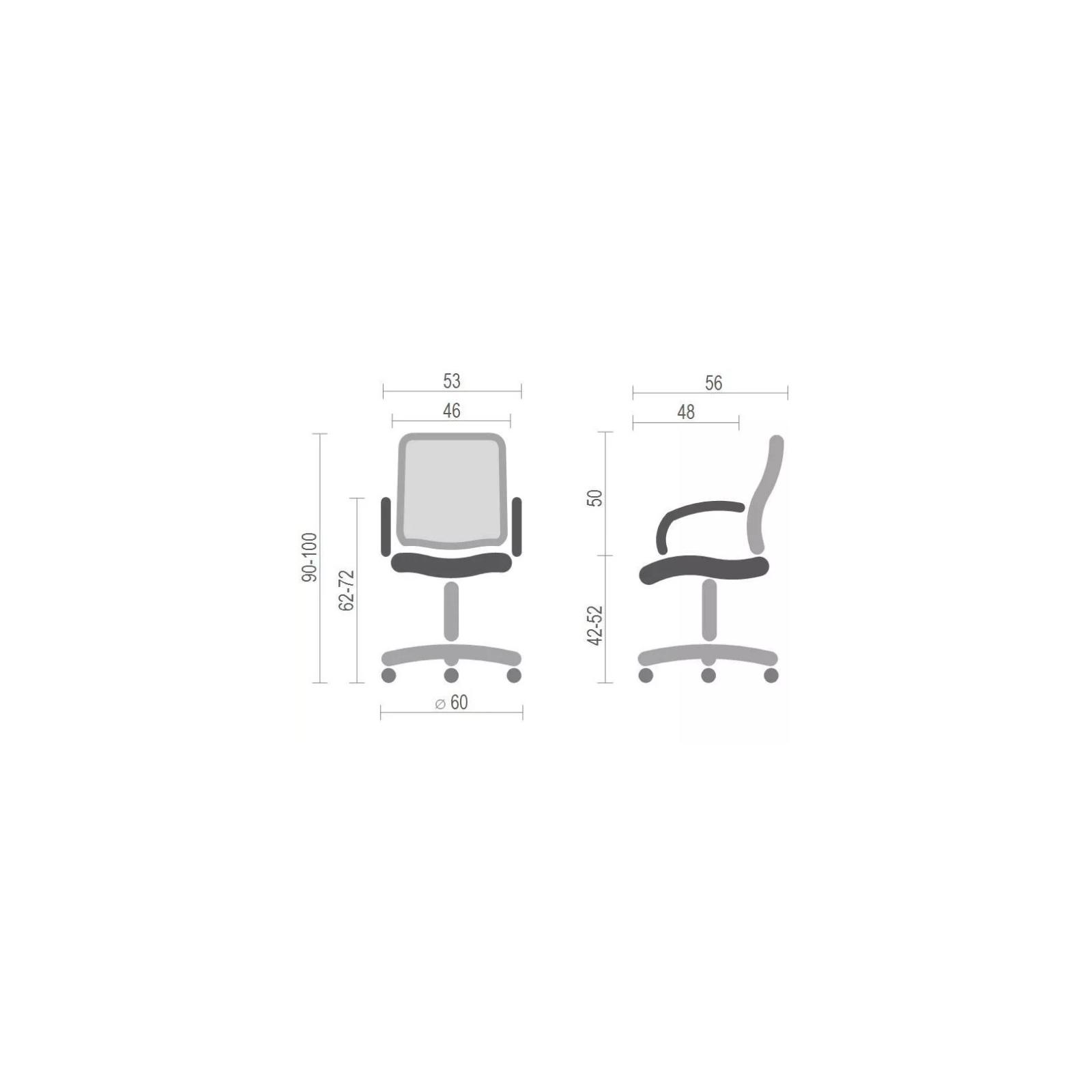 Офисное кресло Аклас Мираж FX CH TILT Черное (12742) изображение 6