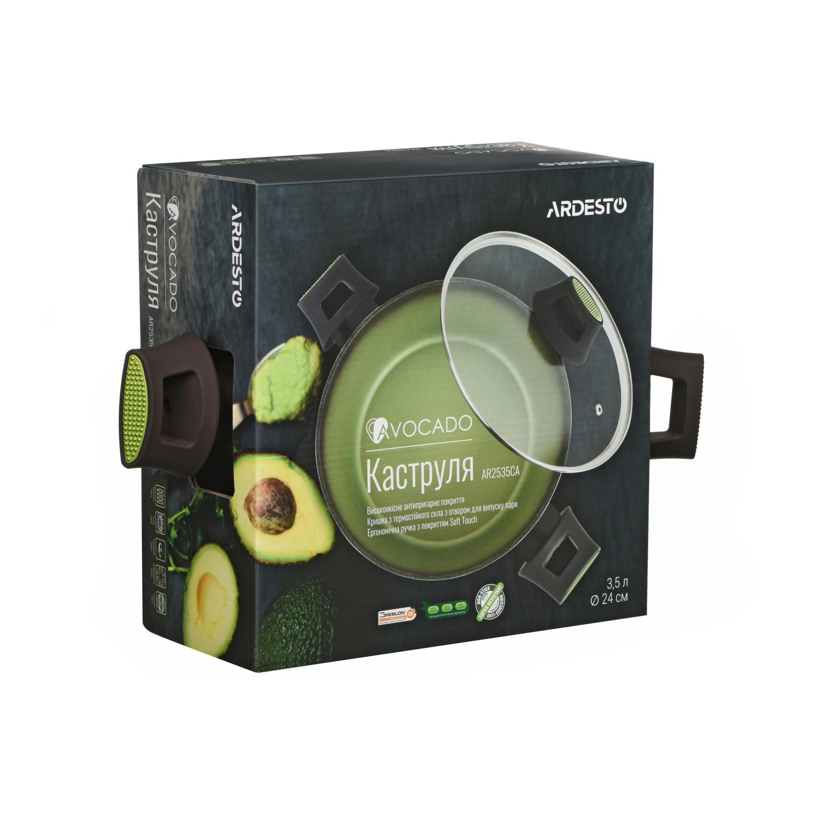Кастрюля Ardesto Avocado с крышккой 3,5 л (AR2535CA) изображение 7