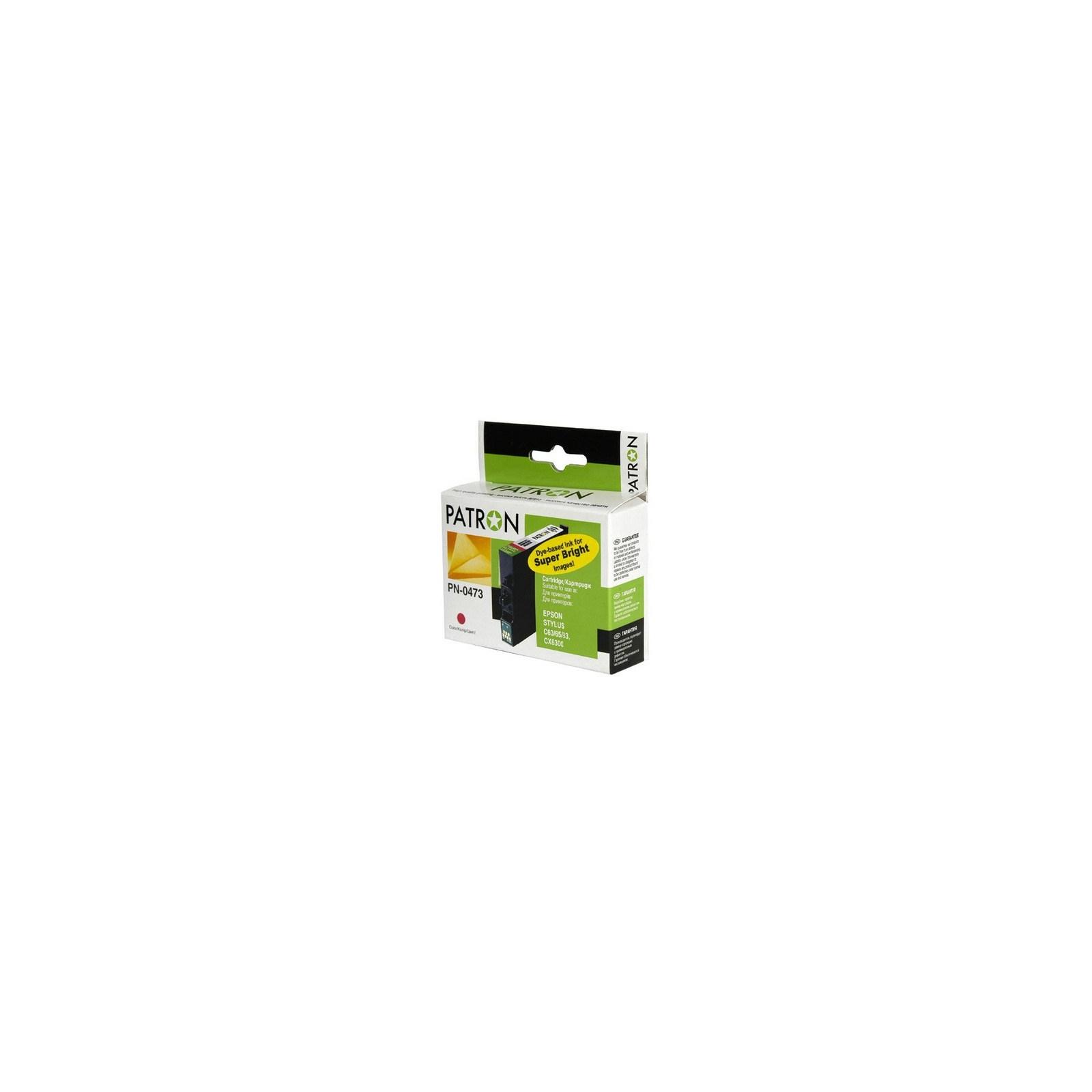 Картридж PATRON для Epson StC63/65, CX3500 magent (CI-EPS-T04734A-M-PN)
