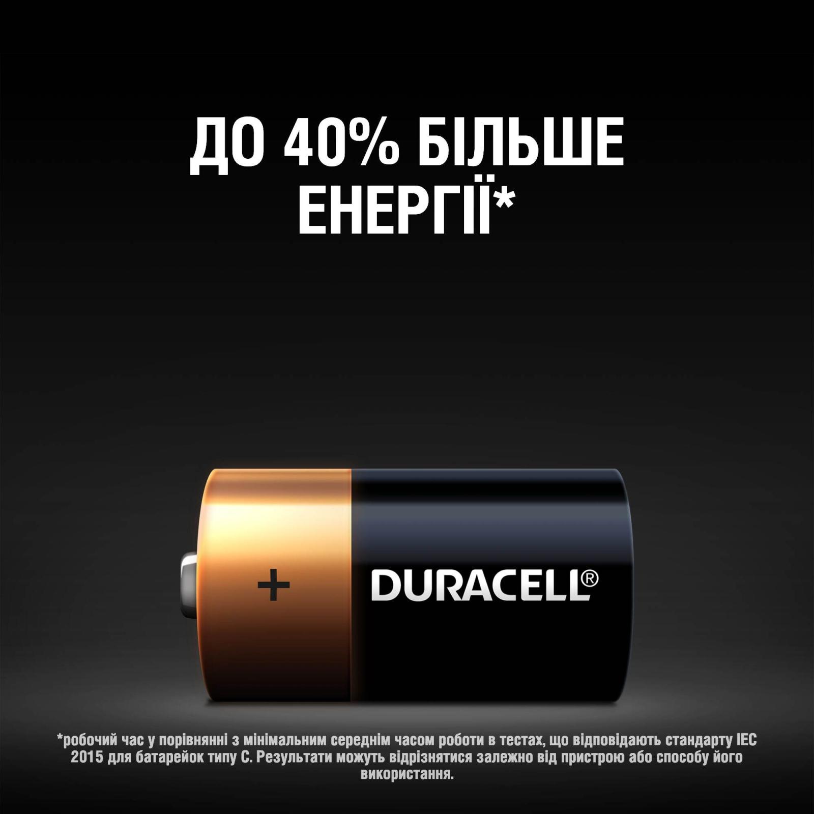 Батарейка C LR14 * 2 Duracell (5000394052529 / 81483545) изображение 4