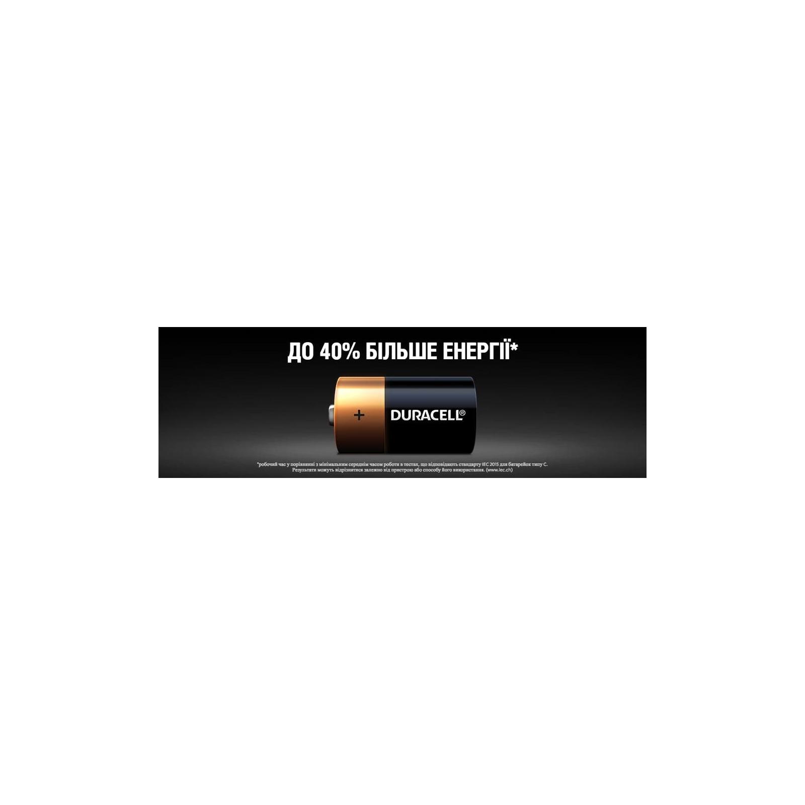Батарейка Duracell C LR14 * 2 (5000394052529 / 81483545) изображение 7