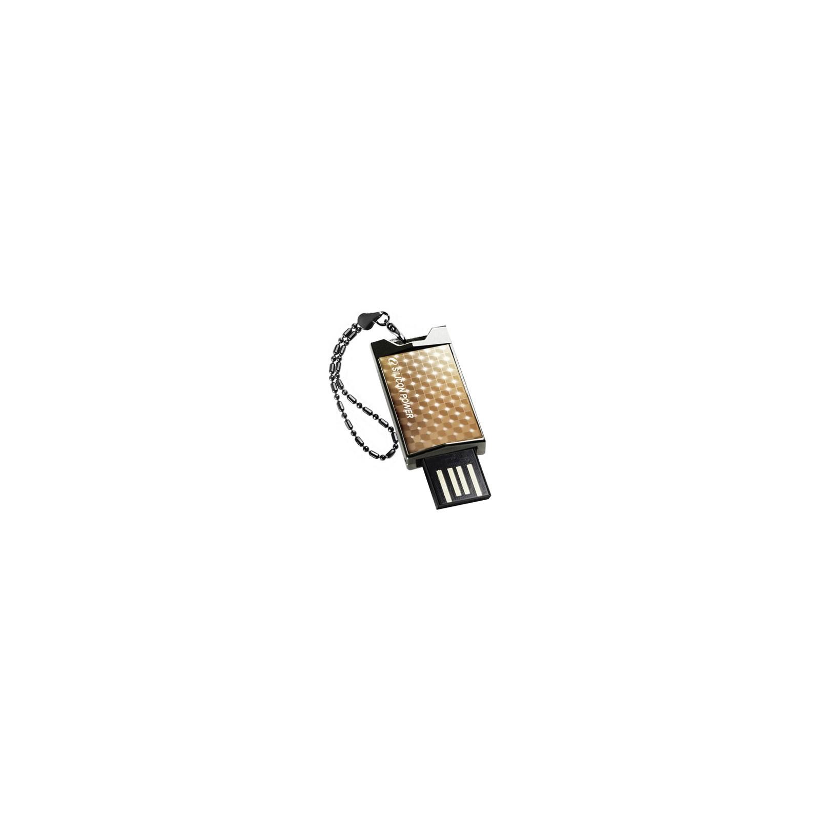 USB флеш накопитель 4Gb 851 gold Silicon Power (SP004GBUF2851V1G)
