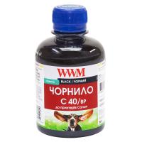 Чернила WWM CANON PG40/50/PGI5/BCI15 BlackPigment (C40/BP)